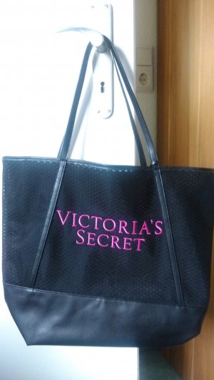 Victoria's Secret Shopper zwart-roze Polyester