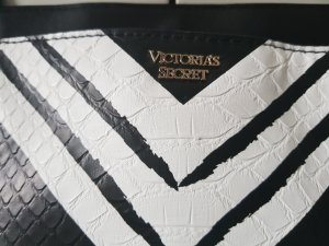 Pink Victoria's Secret Shopper white-black