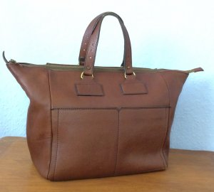 Vintage Carry Bag multicolored leather