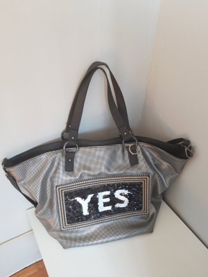 Emily & Noah Shopper silver-colored-anthracite
