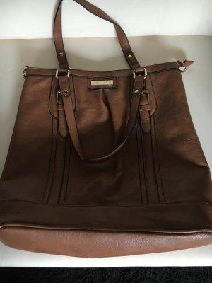 Shoppingbag Invito Kunstleder braun