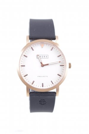 Shore Montre analogue or rose style d'affaires