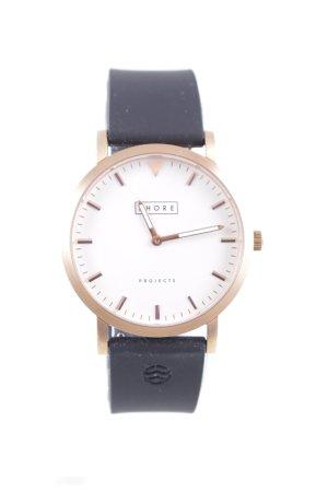 Shore Analoog horloge roségoud zakelijke stijl