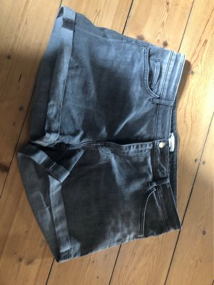 H&M Pantaloncino di jeans grigio