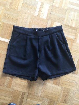 Amisu Short taille haute noir polyester