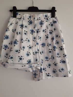 Conte of Florence Shorts white-steel blue