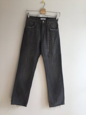 Anine Bing 7/8 Length Jeans grey cotton
