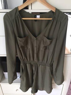short Jumpsuit khaki H&M