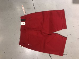 Paddock's Short taille haute rouge
