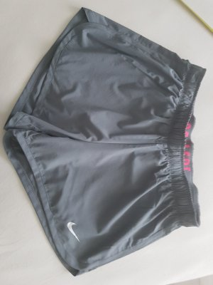 Nike Sportbroek donkergrijs-neonroos
