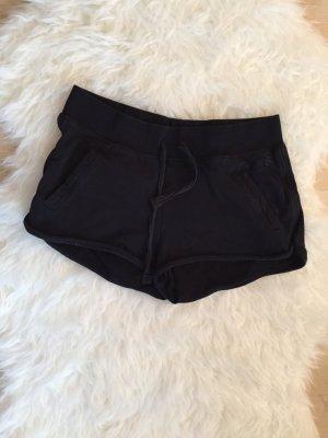 Short schwarz Sport Basic kurze Hose