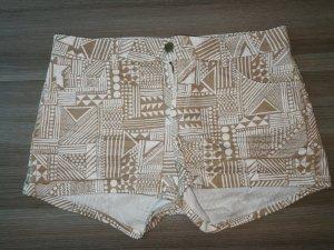 HM Short blanc-beige