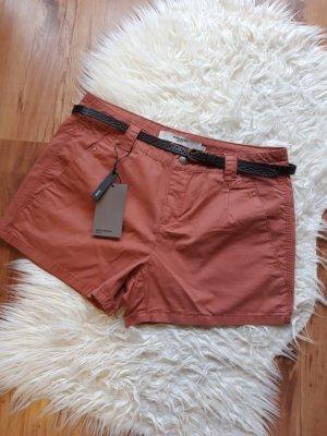 Only Skorts brown-orange