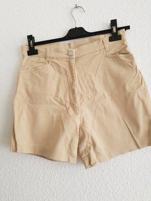 Cecilia Classics High-Waist-Shorts oatmeal