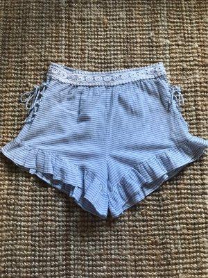 Asos High-Waist-Shorts white-azure