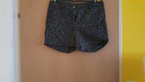 Takko Shorts dark grey-orange