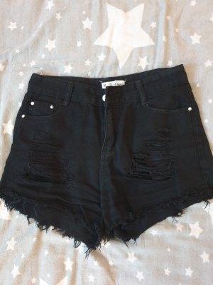 the unknown factory High waist short zwart