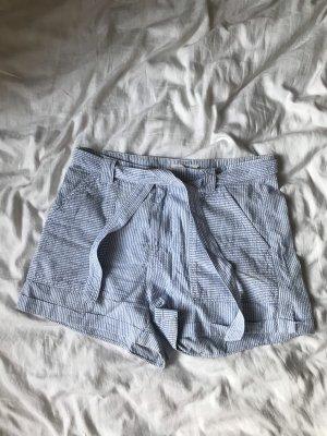 HM Short azuur-wit