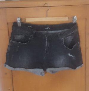 LTB Short gris foncé-gris coton