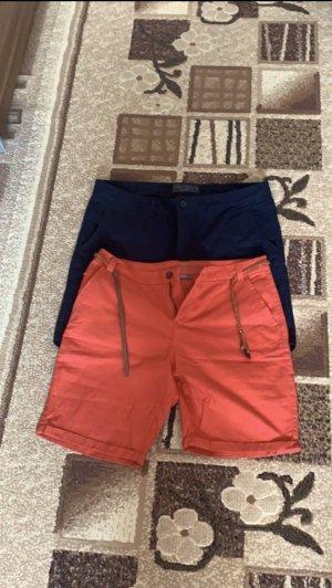 C&A Shorts red-dark blue