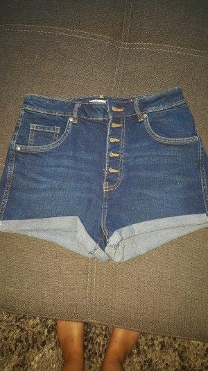 Zara Short taille haute bleu