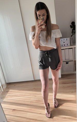 Asos Short taille haute kaki
