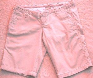 Abercrombie & Fitch Pantaloncino di jeans beige Cotone