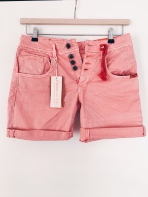 Adenauer & Co Short en jean rosé-saumon