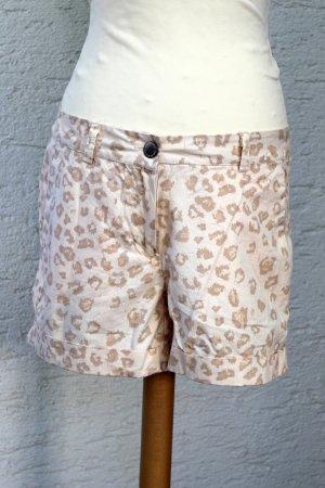 Shorts altrosa Leoprint