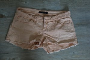 Tally Weijl Denim Shorts apricot cotton