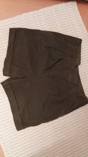 Shorts aus Cord Größe S Zara