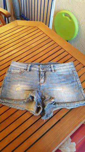 shorts aus jeans von vero moda  in blau