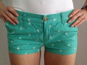 Playlife Short moulant blanc-turquoise