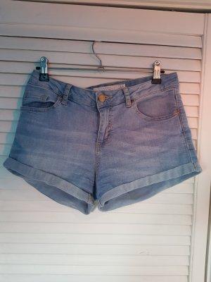 Amisu Pantaloncino di jeans azzurro