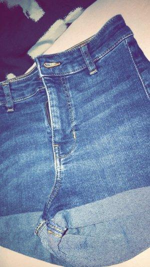 H&M Hot Pants dark blue