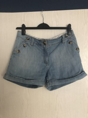 H&M Short en jean bleu