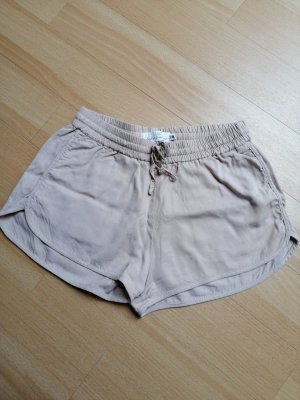 Shorts beige leicht flatterig