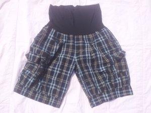 Pantalón corto de talle alto multicolor