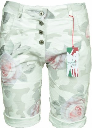 Shorts Bermuda kurze Hose Gr. M/L neu Sommerhose Chino Jeans Rosen