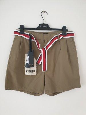 Pinko Bermuda marrón claro