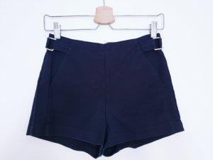 Bershka High waist short blauw-donkerblauw