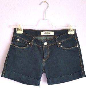 Shorts Blau Denim Gr. L