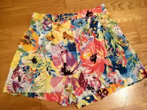 H&M Shorts multicolored cotton