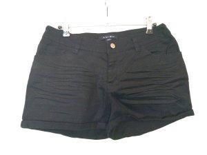 Amisu Shorts nero Cotone