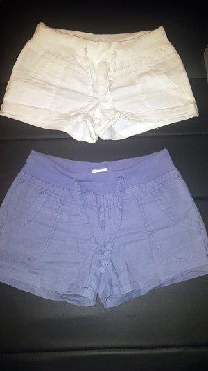 Vero Moda Shorts white-cornflower blue