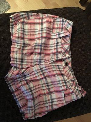 Shorts gemustert rosa
