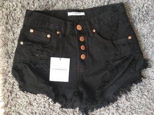 Shorts Glamorous Schwarz