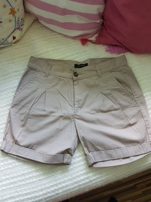 Shorts, Gr. 34, Farbe beige