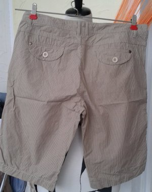 Shorts, Gr.40, beige -gestreift
