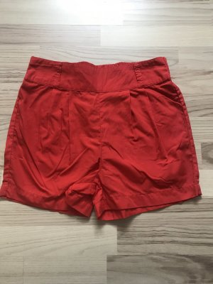 Pieces Sport Shorts bright red